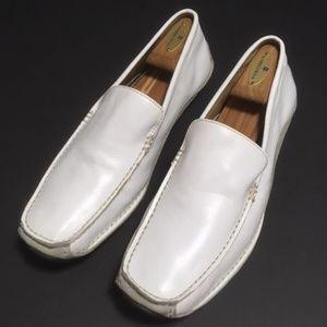 Steve Madden Men's Slip-on Leather Loafers 10.5